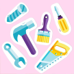 Tools Stickers Pack