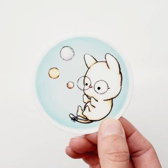 Sticker - Bubble World