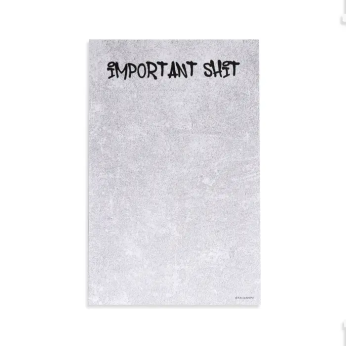 Important Shit Notepad