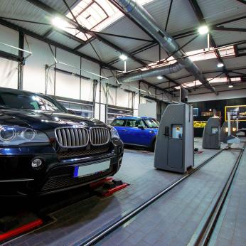 Autoservice BMW Riller & Schnauck, Berlin, Deutschland