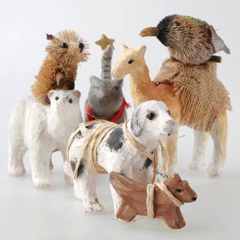 Klassy Collections - Paper Mache Animals