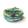Sea Earth Bracelet - Set of 7