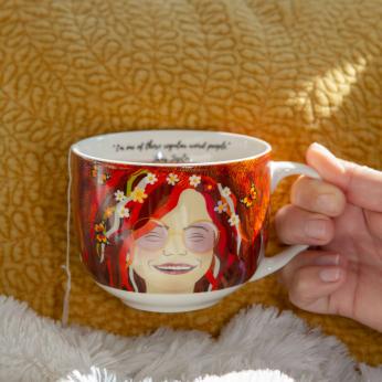 Janis Joplin Mug