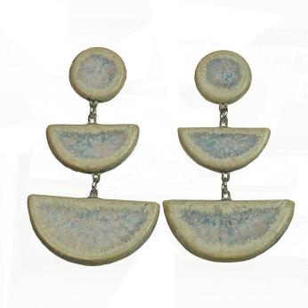 Ceramic Earring Ethnic