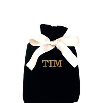 Gift Bag Black Medium