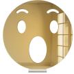 Wow Emoji | Tabletop Centerpiece | Shelf Decor