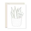 Amazing Plant Letterpress Greeting Card