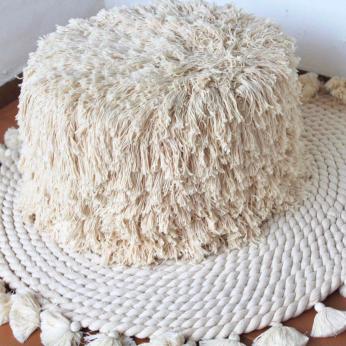 Handwoven Cotton Puff