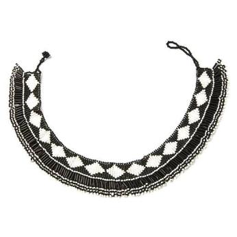 Getu Beaded Neckline Necklace