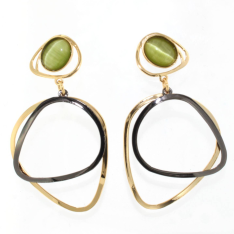 05.Handmade Jewelry - LARGE EARRINGS (Z)