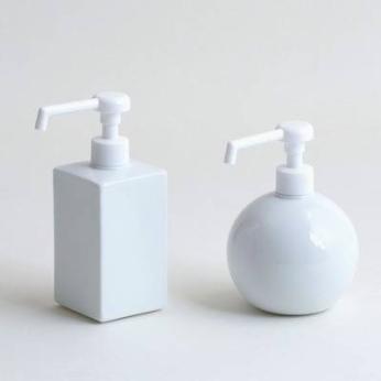 Disinfectant dispenser (shower spray type)- square/globe shower bottle