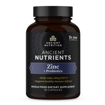 Zinc + Probioitcs (30 caps)