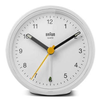 Braun Classic Alarm Clock - BC12