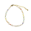 FRESHWATER SMALL PEARL & CANDY BEAD BRACELET