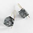 Eco-Resin Small Cube La La Earrings