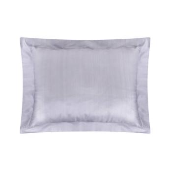 Oxford Silk Pillowcase   Cloud Grey