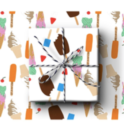 Ice Cream Wrapping paper