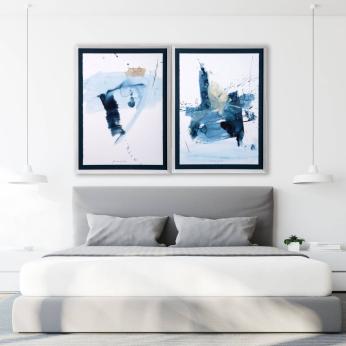 Azul I & II Painting