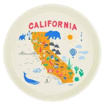 California Round Tray