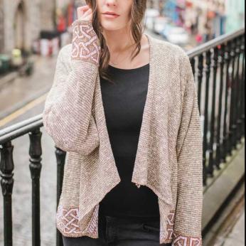 Montrose Silk & Linen Jacket - Oat