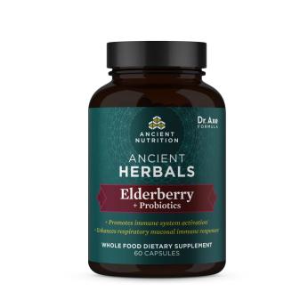 Ancient Herbals - Elderberry + Probiotics