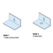 Anchor Plates/Partition Top Anchor