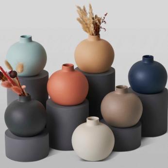 DECORATIVE OBJECTS Ball Vase