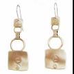 E3584 Markings Earrings Handmade USA