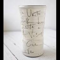 """Union Poem"" Round Vase"