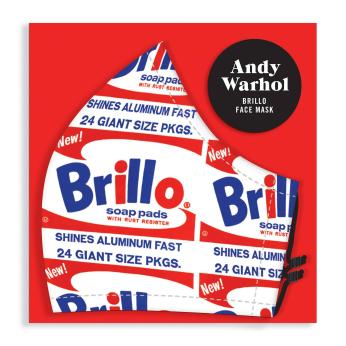 Andy Warhol Brillo Face Mask