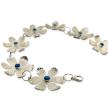 Leotie sterling prairie 7-flower bracelet