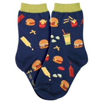 Burgers + Fries / Kids Socks