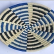 Black and blue checkered handwoven Wall Baskets