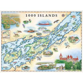 "XPLORER MAPS hand-drawn 18"" x 24"" ""STORY MAPS"""
