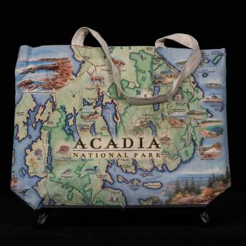 XPLORER MAPS hand-drawn map canvas tote bag COMING SOON