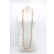 Round Beads Necklace - Duo