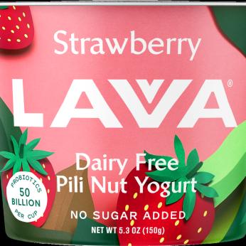 Dairy Free Pili Nut Yogurt, Strawberry 5.3oz