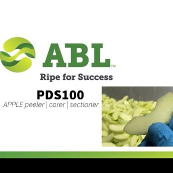 Apple peeler - corer - sectioner PDS100  SKIN OFF