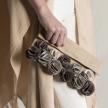 Handmade Flowers Clutch