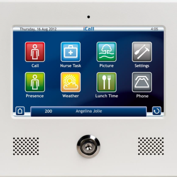 iCall 220 SIP Touch patient terminal