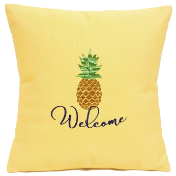 Nantucket Bound Pineapple Welcome