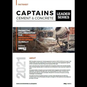 CAPTAINS CEMENT & CONCRETE - LEADER SERIES