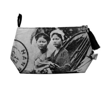 Travel Pouch - Conducteur de Pousse-Pousse / Tonkin Cyclo Women