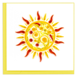 Quilled Sun Greeting Card
