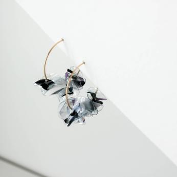Muar Hoops / Sustainable Recycled Earrings