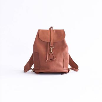Adelaide Backpack, Chestnut
