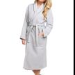 Chortex® Luxury Waffle Robe™, Silver