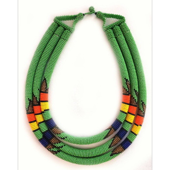 Chimbo Triple Necklace - Multiple Colors