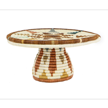 Shades of Sand Cake Stand