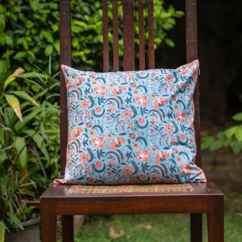 Pulicat Blue - Cushion Covers